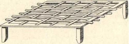 нерестовое креслице для выращивания судака