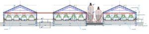 примененнная при создании бизнес-плана по кролиководству схема зданий